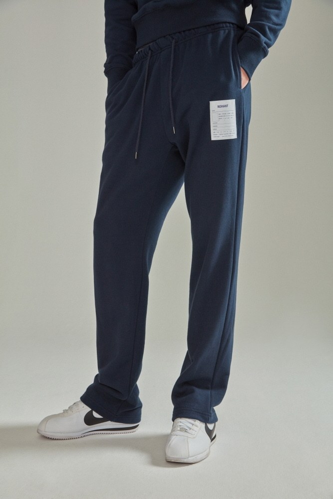 NAME LABEL SWEATPANTS NAVY
