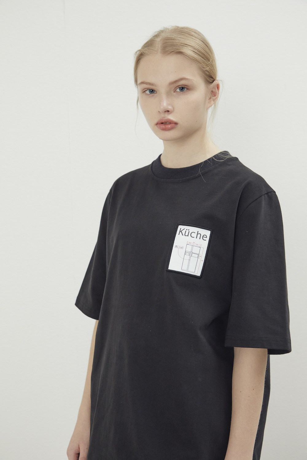 MAISON HAUS T SHIRT BLACK