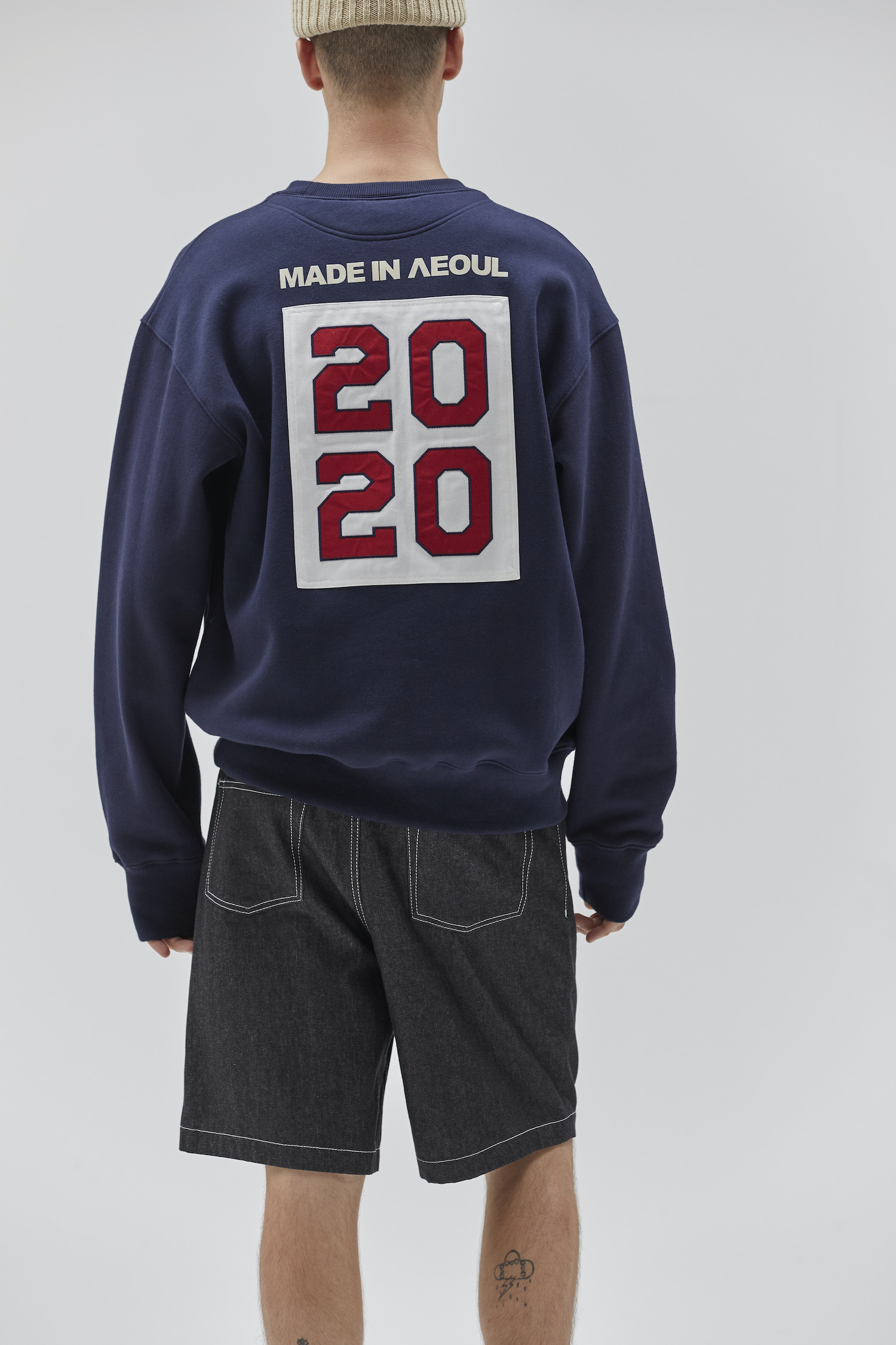 MADE IN SEOUL 2020 SWEATSHIRT NAVY